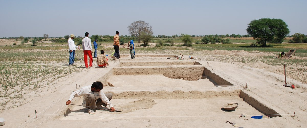 Farmana excavation 2