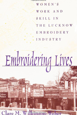 Embroidering Lives cover